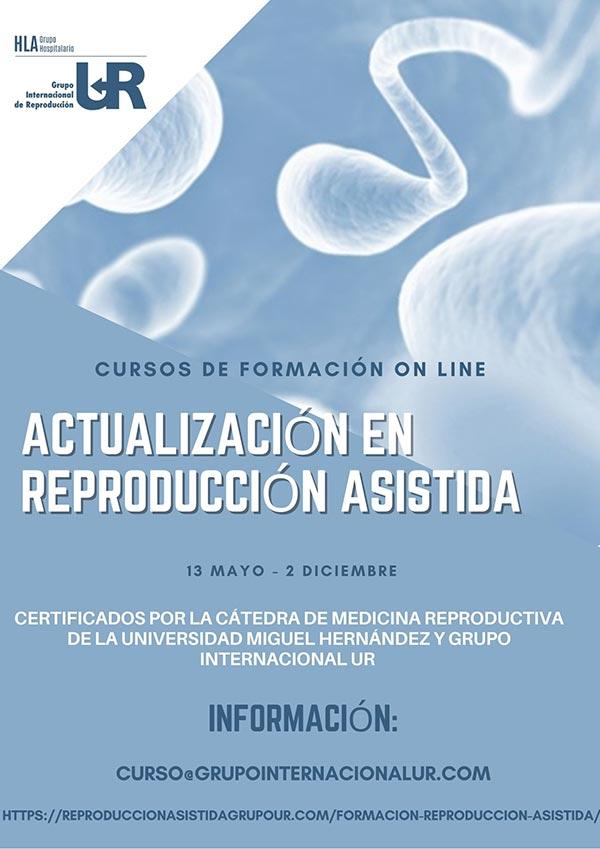 FORMACIÓN ONLINE. Actualización en reproducción asistida.